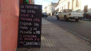 Paraná: campeones en carreras con obstáculos