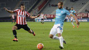 Estudiantes se quedó con el partido de ida frente a Belgrano por la Sudamericana