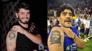 El Papa recibe a Maradona, su hijo Jr y a las estrellas que jugarán el partido por la paz