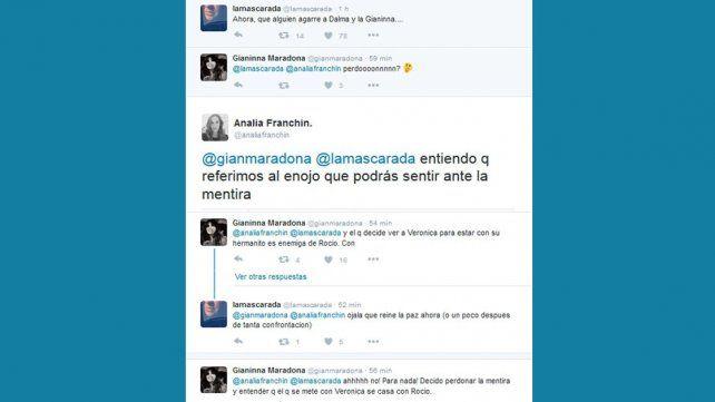Maradona reconoció a Diego junior como su hijo y la inesperada reacción de Gianinna