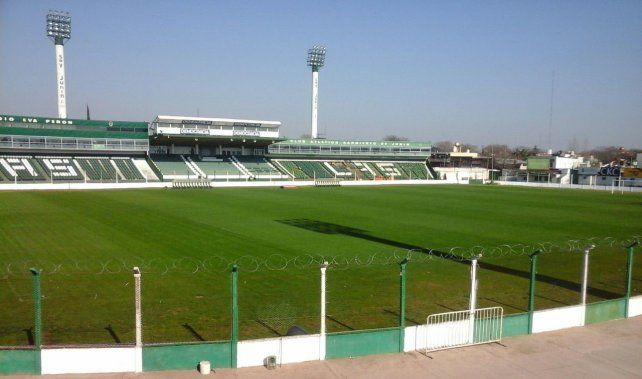 La Sub Comisión de Jóvenes de Sarmiento de Junín mostraron las primeras imágenes del estadio remodelado.