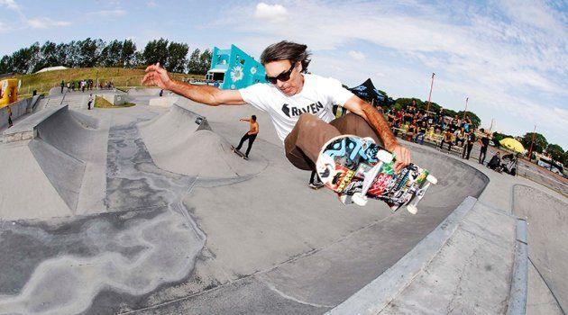 RulfDurrieu en plena acción como todo el skate argentino lo quiere volver a ver.