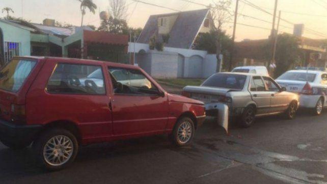 El hermano de la joven que mató con un Mini Cooper chocó un patrullero