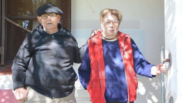Amor. Ramona y Pedro se conocieron cuando tenían lepra.