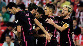 Barcelona venció a Bilbao en el destacado