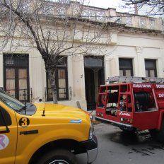 Evacuaron un hogar de adolescentes en Concordia por un incendio