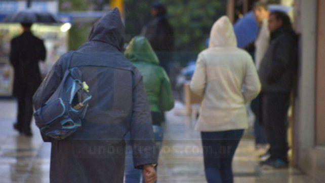 Jornada con probabilidad de lluvias y una mínima de 7 grados en la provincia