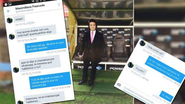 Bochornoso: el periodista deportivo que acosa y maltrata mujeres fue escrachado