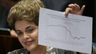 En su defensa, Dilma denunció un golpe de Estado parlamentario
