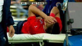 Leandro Fernández se rompió los ligamentos