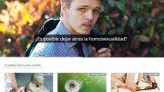 Página web ofrece terapias para curar la homosexualidad