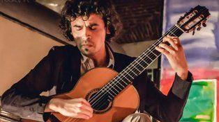 Concertista. El chileno Andrés Pardo Laurie.