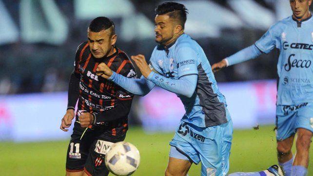 Fernando Telechea aportó su habitual sacrificio