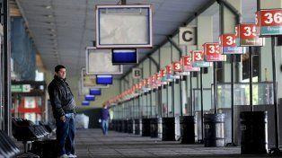 Paralizaron la terminal de ómnibus de Retiro por ola de robos