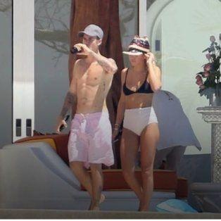 Fotógrafo interrumpe sexo al aire libre de Justin Bieber y su novia Sofía Richie