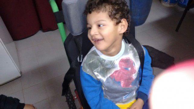 Recuperaron la silla robada a un niño con parálisis cerebral