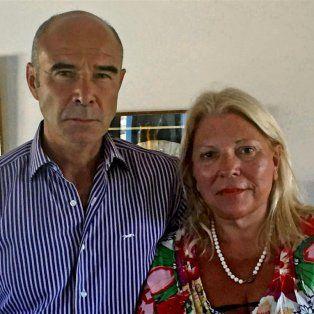 carrio respaldo al jefe de la aduana desplazado: es una victima