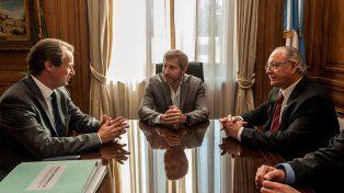 El ministro Frigerio se reunió con el gobernador de Entre Ríos