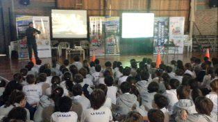 Los alumnos de La Salle aprendieron sobre seguridad vial con #TC2000vaEscuela