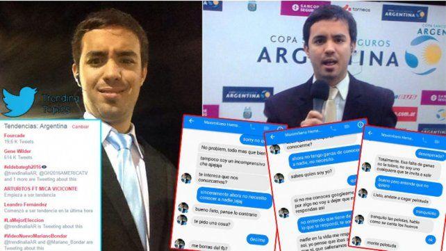 El periodista fue tendencia en Twitter y merecedor de muchos memes.