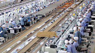 El Indec reveló que la producción industrial cayó 7,9 por ciento en julio