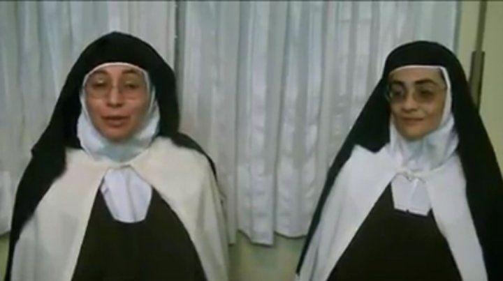 Monjas de Nogoyá difundieron videos para desmentir que sufran torturas