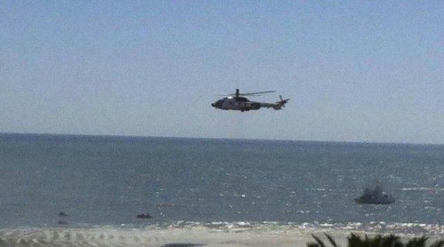 Personal y embarcaciones de Prefectura están buscando a dos tripulantes desaparecidos