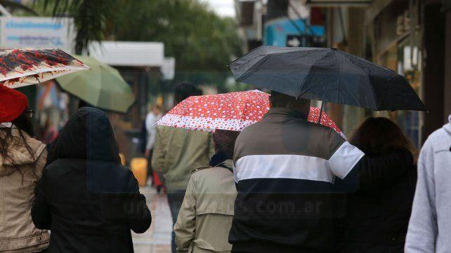 Jornada con lluvia y máxima de 14 grados para la provincia