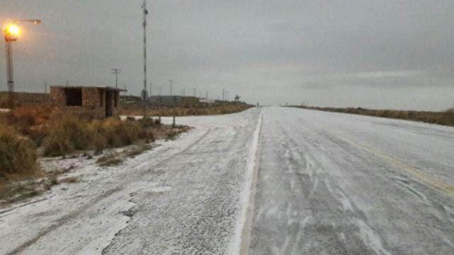 Nevó en Córdoba y cortaron el camino a las Altas Cumbres