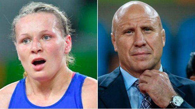 Increíble: fue demandado por golpear a luchadora que no ganó medalla