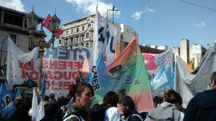 El paro docente tiene alto acatamiento, en el marco de la protesta nacional y la Marcha Federal