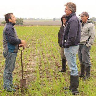 Eduardo Cerdá comenzó a trabajar este año en un campo de Gualeguaychú.