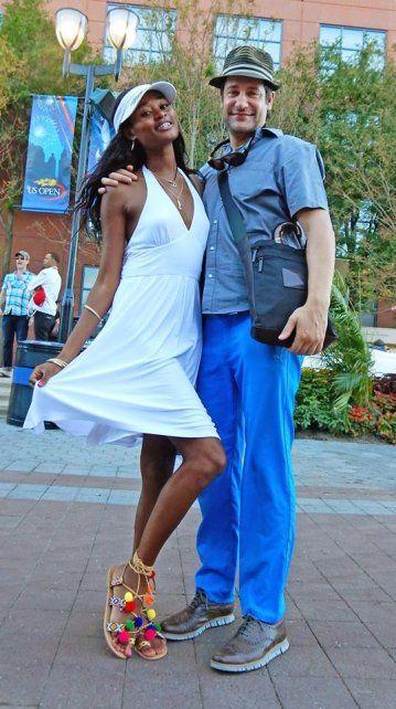 Mirá como va vestida la gente al US Open, el grande de Nueva York
