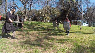 En un pedacito del Parque Urquiza el tiempo retrocedió mil años