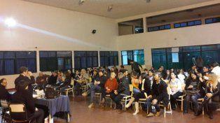 Relación con la comunidad. La Tecnicatura promueve charlas abiertas a todo público.