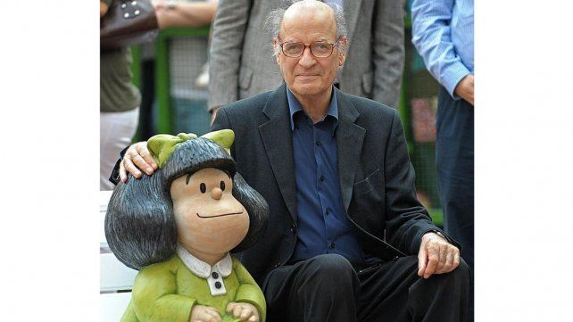Quino y Mafalda.