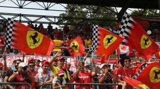 Las mejores fotos de los Tifosi en el GP de Italia 2016