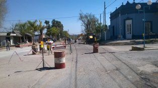 El encuentro se realiza en la ciudad que tiene sus calles en obras. Foto Facebook municipalidad de San Benito.