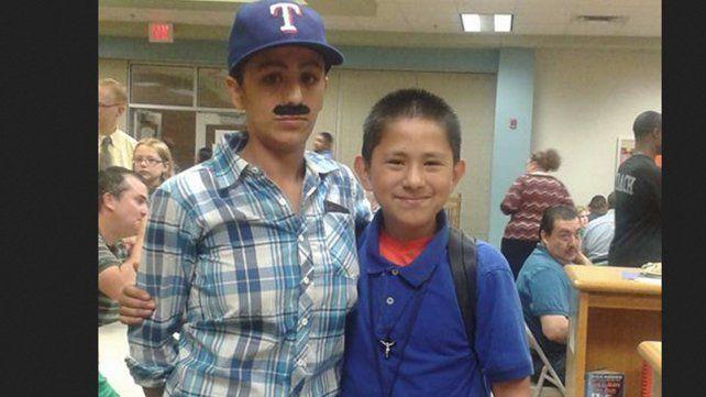 Se vistió de hombre para poder asistir a un actividad del colegio de su hijo
