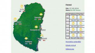 Seguirá inestable el clima en la provincia durante este miércoles