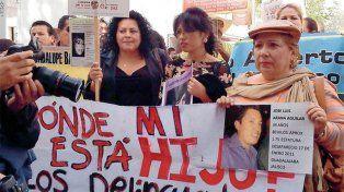 Hay 26.898 desaparecidos en México, la mayoría en una edad entre los 15 y 19 años