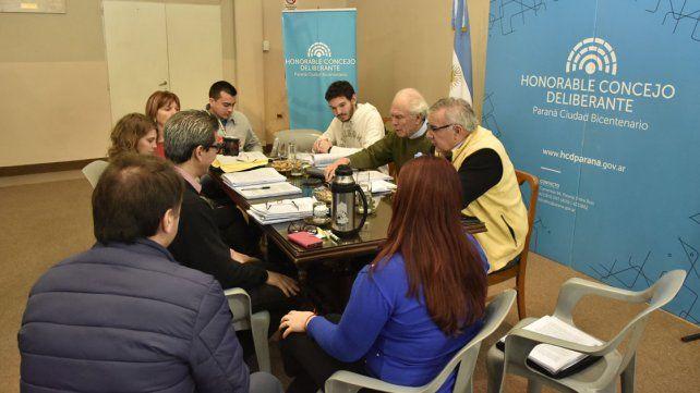 Sigue el jueves la sesión sobre transporte en el Concejo Deliberante de Paraná
