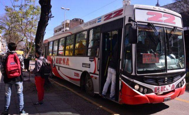 Por el TC Pista Entrerriano la línea 22 llegará hasta el Autóromo