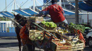 En Paraná los carros son utilizados para trabajar. Foto UNO. Archivo.