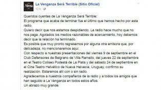 Dolina dejó la La venganza será terrible por falta de pago de Radio Del Plata