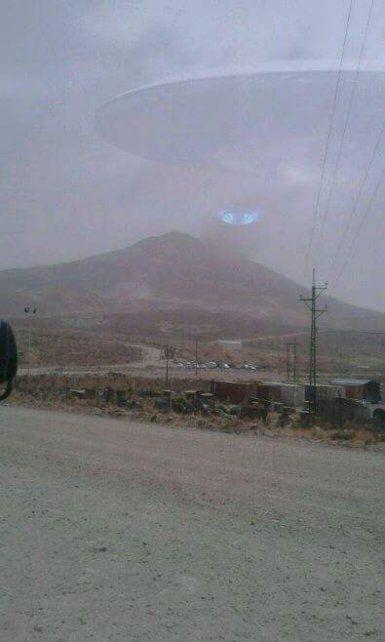 ¿Un OVNI en el Cerro Rico de Potosí ?