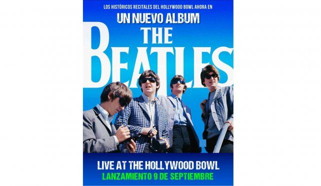 Sale a la venta The Beatles: Live At The Hollywood Bowl, con material fuera de catálogo