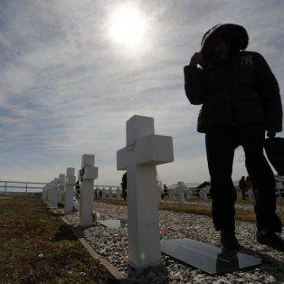 adelantaron que buscaran identificar a los soldados argentinos en malvinas