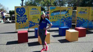 Alexis Unrein ganó los 10K en el Maratón del Becario en una tarde soñada