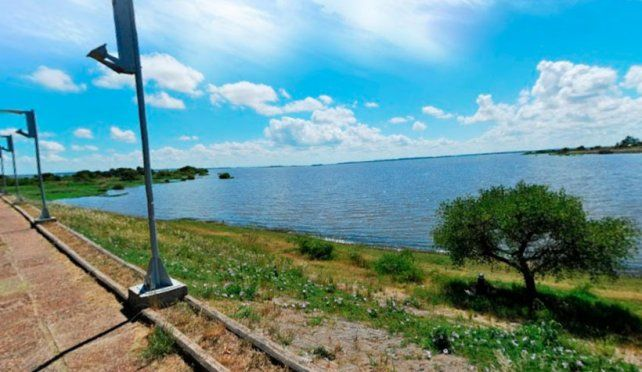 Lago Salto Grande.